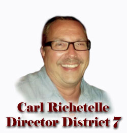 Director District Seven - Carl Richetelle (Photo Available Soon