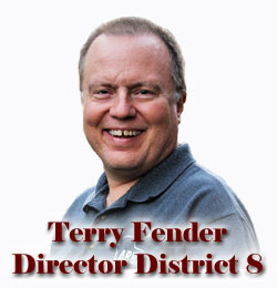 Director District Eight - Terry Fender